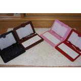 Capa Case Com Teclado Para Tablets 7 E 8 Pino V8 - Top