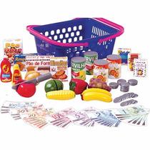 Brincando De Casinha - Cozinha - Cesta De Compras - Mercado