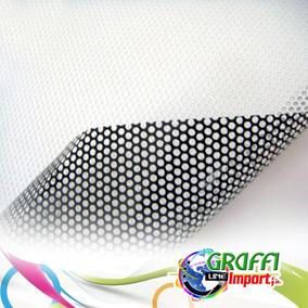 Vinil Blanco De Impresion Microperforado 1,52 M X 50