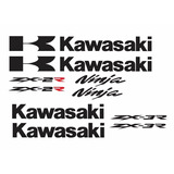 Adesivo Kawasaki Ninja + Rabeta 250r 300r