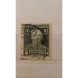 Estampilla 50 Centavos Italia 1928
