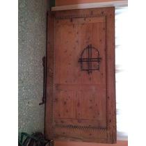 Portón/puerta De Cedro Blanco Labrado