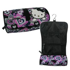 Necessaire Hello Kitty Bolsa Estojo Organizador Maquiagem Pe