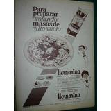 Publicidad Vintage Clipping Harina Leudante Hornarina Mod1