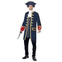 Disfraz De Pirata Colonial Para Adultos Envio Gratis