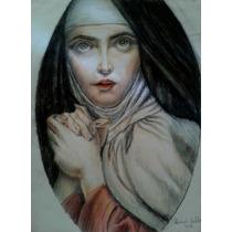 Dibujo_lapices De Color_santa Teresa De Jesus
