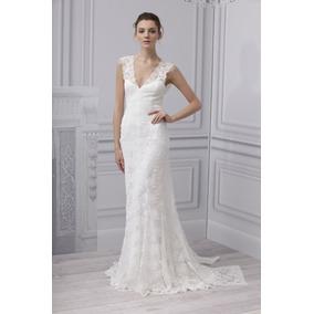 Vestido De Noiva Sereia Renda Nobre, Cauda Removível Ou Fixa