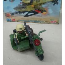 Juguete Militar Figuras Armables Carro Militar Soldados