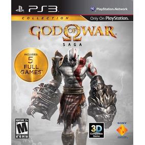 God Of War Saga 5 Jogos Mídia Física Ps3