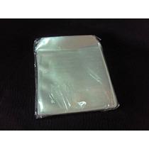 100 Capas Cd Dvd Plástico C/ Aba
