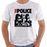 Camisa Camiseta Baby Look Regata The Police Sting