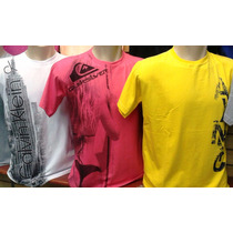 Kit C/10 Camisetas De Marcas Famosas Atacado Aproveite