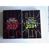 Metro 2033 Y 2034 (novela En Español)