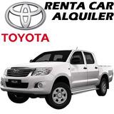 Alquiler Renta Camioneta Doble Cabina Auto Toyota Vitara Sz