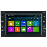 Central Multimidia 2 Din Universal Gps Bluetooth Tv Dig.