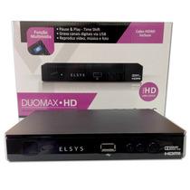 Receptor Elsys Duomax Hd Analógico, Digital E Hd C/ Gravador