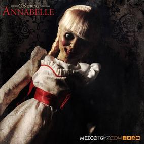 Boneca Annabelle Replica 1/1 Mezco 2017 46 Cm Promoção Novo