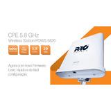 Cpe Wireless 5.8 Ghz Com Antena 20 Dbi Ap / Cliente/ Wds