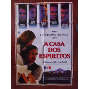 Cartaz Poster Do Filme A Casa Dos Espiritos