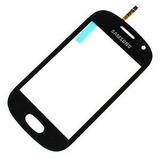 Tela Vidro Touch Samsung Galaxy Fame S6810 6812 Frete Gratis