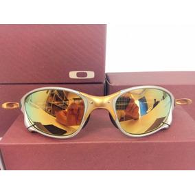 Óculos Ockley Julliet Double Xx 24 K Lente Dourada Metal