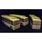 Miniatura Em Madeira Do Ônibus Cma Da Viação Cometa