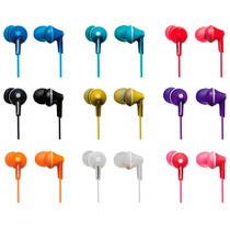 Auriculares In Ear Panasonic Rp-hje125 Colores Tablet Cel