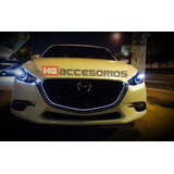 Tira Led Mazda 3 2014-2018 Parrilla Tipo Sgt M6 Envio Gratis
