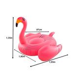 Boia Inflável Gigante Flamingo