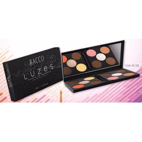 Paleta Sombras Luzes - Paris Maquiagem Racco Pincel/espelho!