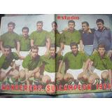 Estadio Nº 709 14 De Diciembre 1956 Wanderers Subcampeon 56