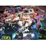 Lote 67 Figuritas Autoadhesivas: Space Jam Y Godzilla
