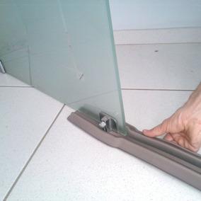 Protetor Veda Porta Vidro Blindex Residencial Duplo 100cm