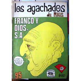 Historieta.los Agachados De Rius, Edit.posada. # 95,1972