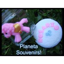 Frasco Carrusel Decorado En Porcelana! Souvenirs Infantiles