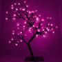 Arbol Navideño Luces Led Rosas Bonsai Cerezo Casamientos