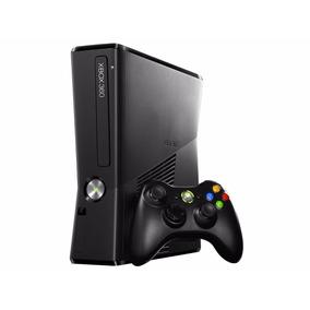 Xbox 360 Slim Consola + 50 Juegos Instalados Hdd 500 Gb