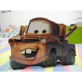 Cajitas De Personajes De Cars Para Centros De Mesa O Dulcero