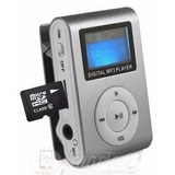 Reproductor Mp3 Grabador Lcd Radio Clip Correr Hasta 64 Gb !