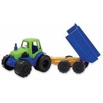 Tractor Chico Con Acoplado Duravit Cod. 217 Juguete