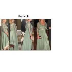 Vestido Fiesta Largo Mujer Diseño Luciano Brancoli !!
