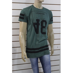 Camiseta Camisa Blusa Oversized Swag Masculina Longline