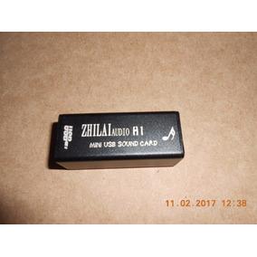 Usb Sound Card Conversor Digital Analógico