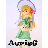 Arg Evangelion Figura Asuka Con Flor Anime Japon Rara Vmj