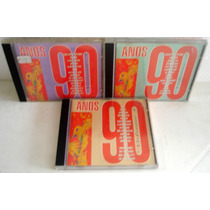 Lote 3 Cds Anos 90 - Volumes 1,2 E 3