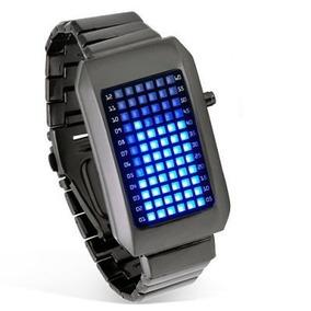Reloj De Leds Binario Digital Calidad Y Lujo 72 Leds ¡¡¡¡ Ex