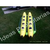 Banana Doble Inflable Acuatica Para Playa, Envio Incluido.