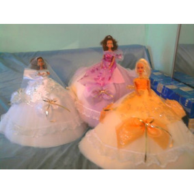 Barbie Vestido De Novia O Quinceañera.