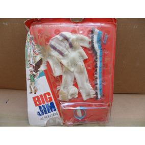 Traje De Jefe Indio Para Big Jim =kid Acero Mattel