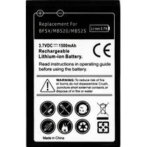 Bateria Para Motorola Bravo Mb520 Defy Mb525 1500mah